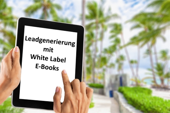 Leadgenerierung mit White Label E-Books